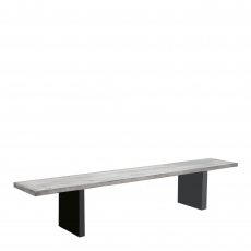 Mondo - Dining Bench Straight Edge T-Leg