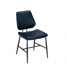 Downtown - Dining Chair In Dark Blue