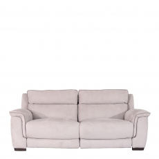 Monza Fabric - 2.5 Seat Sofa With Double Power Recliner In Fabric