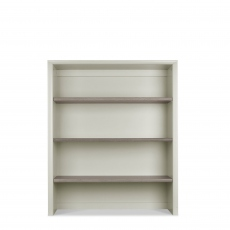 Bremen - Wide Top Unit In Grey Washed Oak With Soft Grey Finish