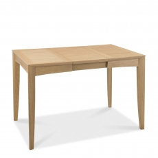 Bremen - 80cm Extending Dining Table With Oak Finish