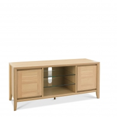 Bremen - Entertainment Unit With Oak Finish