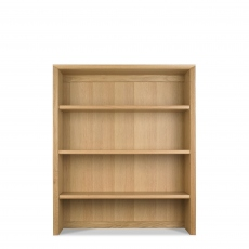 Bremen - Wide Top Unit With Oak Finish