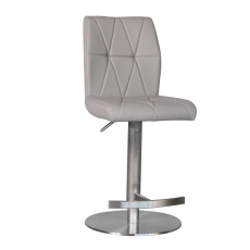 Essen - Dark Grey PU Bar Stool