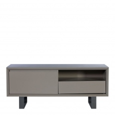 Livorno - TV Unit In Dark Grey