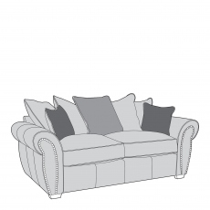 Miami - Pillow Back 3 Seat Sofa