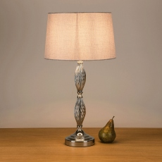 Borage Table Lamp Grey