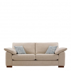 Lewis - 4 Seat Sofa In Aqua Clean