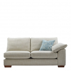 Lewis - 4 Seat Sofa 1 Arm RHF In Aqua Clean