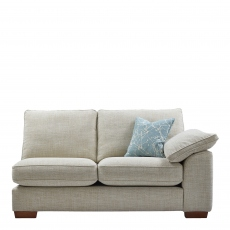 Lewis - 3 Seat Sofa 1 Arm RHF In Aqua Clean