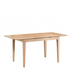 Suffolk - 120cm Butterfly Extending Table Oak Finish