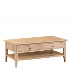 Suffolk - Large Coffee Table Oak Finish