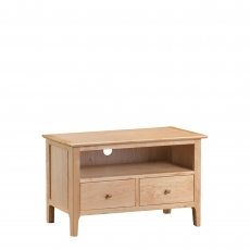 Suffolk - Standard TV Cabinet Oak Finish