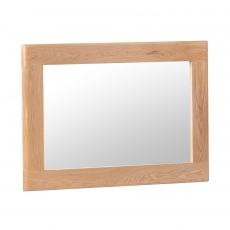 Suffolk - Wall Mirror Oak Finish