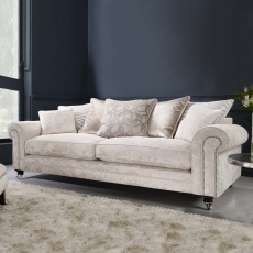 Bellagio - Scatter Back 3 Seat Sofa In Fabric