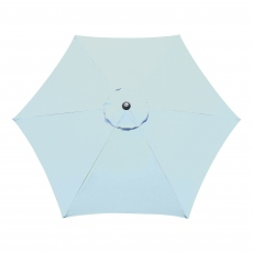 Genoa - 3m Parasol Duck Egg Blue