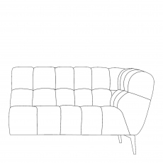 Vincenzo - 2 Seat Sofa RHF Arm