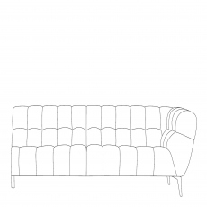 Vincenzo - 3 Seat Sofa RHF Arm