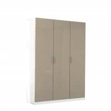 Cosmo - 3 Door Hinged Door Robe Height 197cm