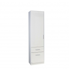 Cosmo - 1 Door 2 Drawer Combi Robe Left Height 197cm