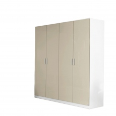 Cosmo - 4 Door Hinged Door Robe Height 210cm
