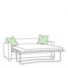 Zest - Small Sofabed (120cm) With Standard Mattress