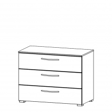 Charlton - 80cm 3 Drawer Chest