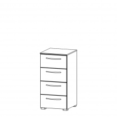 Charlton - 40cm 4 Drawer Chest