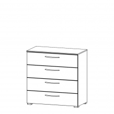 Charlton - 80cm 4 Drawer Chest