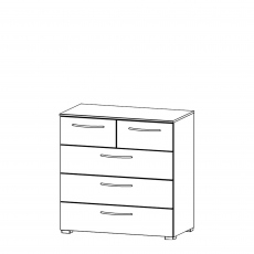 Charlton - 80cm 5 Drawer Chest