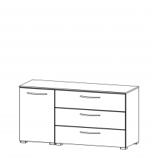 Charlton - 120cm 1 Door LH 3 Drawer Chest