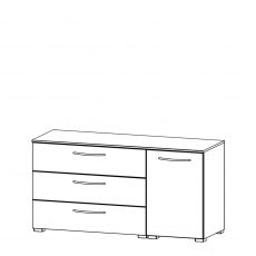 Charlton - 120cm 1 Door RH 3 Drawer Chest