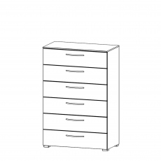 Charlton - 80cm 6 Drawer Chest