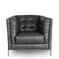 Mezzo - Chair In Leather