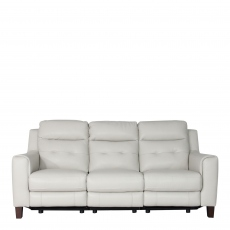 Caserta - 3 Seat Sofa With Power Recliners In Leather Cat 18 C/Split