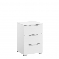 Strada - 40cm 3 Drawer Bedside Table