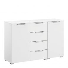 Strada - 120cm 2 Door 4 Drawer Chest
