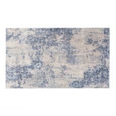 Silky Rug SLY01 Ivory/blue