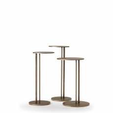 Cattelan Italia Sting BB - Coffee Table In Brushed Bronze 26cm x 55cm