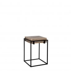 Fairway - End Table Champagne Finish