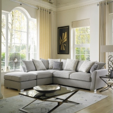 Dallas - Standard Back 2 Seat Sofa In Fabric Grade C