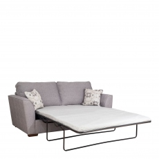 Dallas - Standard Back 3 Seat Sofabed (140cm) With Standard Mattress