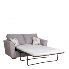 Dallas - Standard Back 2 Seat Sofabed (120cm) With Standard Mattress
