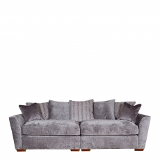 Dallas - Pillow Back 4 Seat Modular Sofa