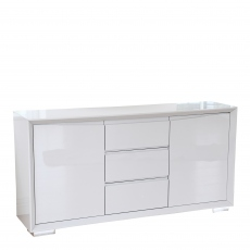Serena - 160cm Sideboard White High Gloss Finish