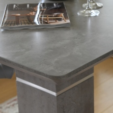 Bar Table Concrete Effect Finish