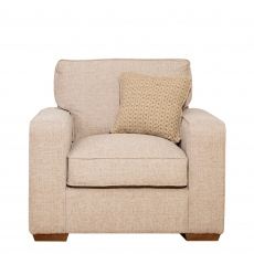 Layla - Standard Back Love Chair In Fabric
