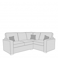 Layla - Standard Back 1 Seat Sofa RHF Arm, Corner With 2 Seat Sofa LHF Arm In Fabric