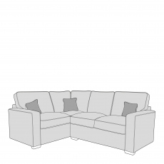 Layla - Standard Back 1 Seat Sofa LHF Arm, Corner With 2 Seat Sofa RHF Arm In Fabric