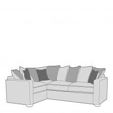 Layla - Pillow Back 1 Seat Sofa LHF Arm, Corner With 2 Seat Sofa RHF Arm In Fabric